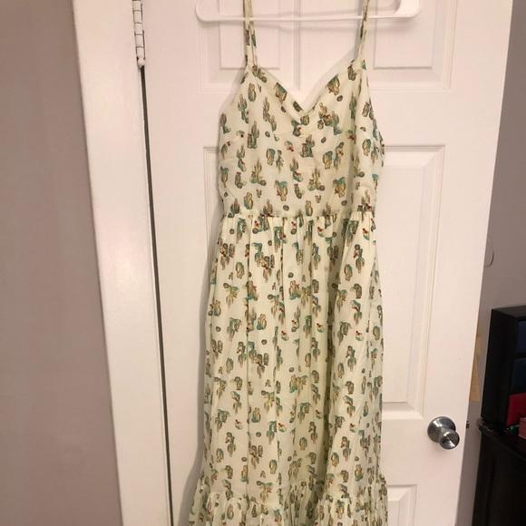 1b069fd51c Modcloth Dresses   In Your Nature Maxi Dress In Cacti L   Poshmark